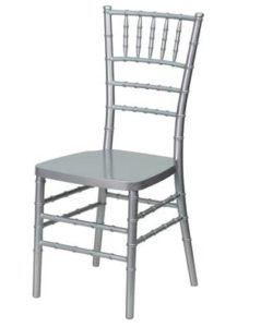 Gümüş Tiffany Sandalye