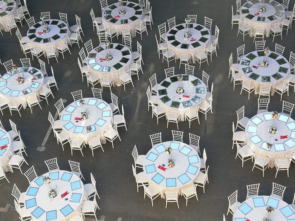Kiralık masa sandalye
